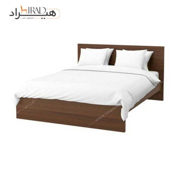 تخت خواب دو نفره هیراد مدل مالم