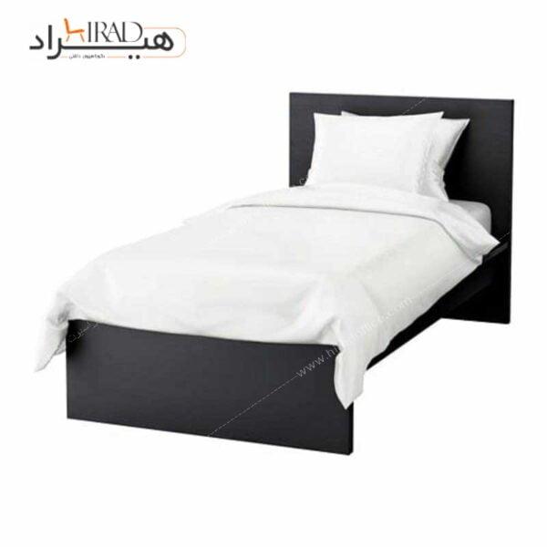 تخت خواب یک نفره هیراد مدل مالم