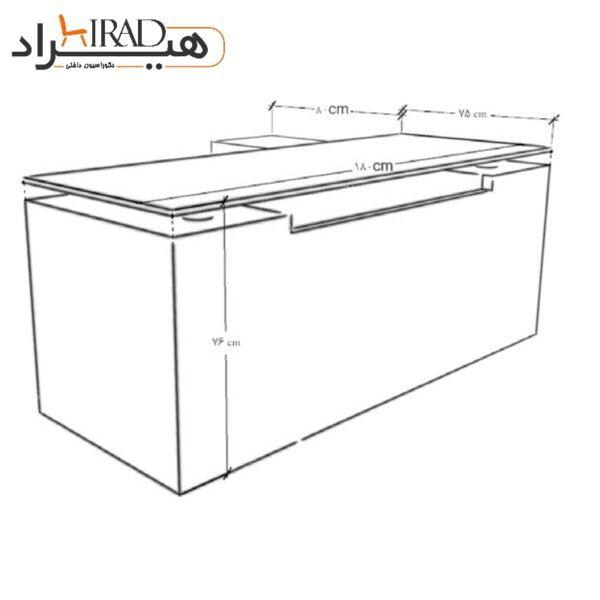 میز مدیریت هیراد مدل M808